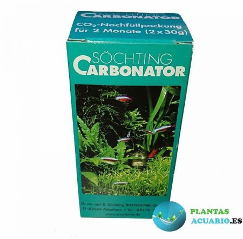 Söchting Carbonator Recambio 2x30gr