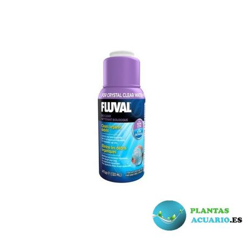 Clarificador Biológico Fluval Bio Clear 120ml
