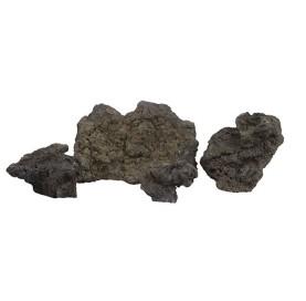 Roca Volcanica Negra