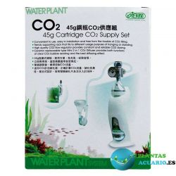 Kit completo CO2 WATERPLANT 45g