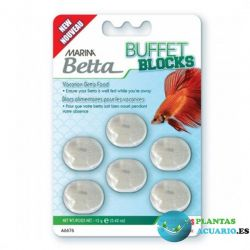 BLOQUE BUFFET BETTA 7 DIAS 12G MARINA