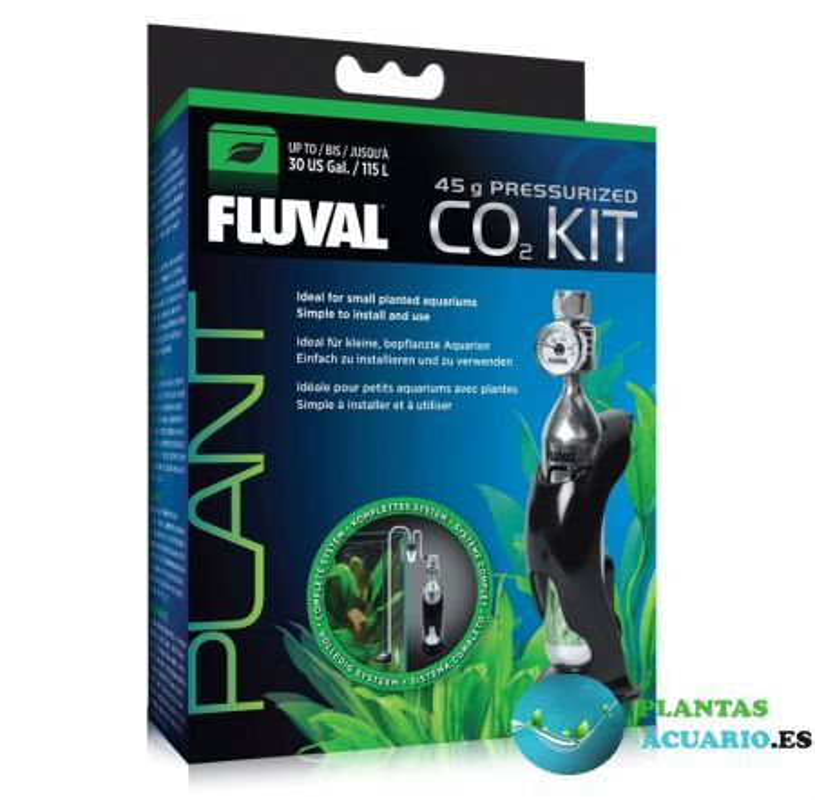 Kit de CO2 Comprimido de 45g Fluval