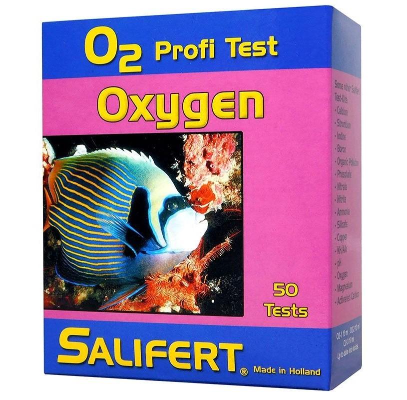 Test de Oxigeno de Salifert