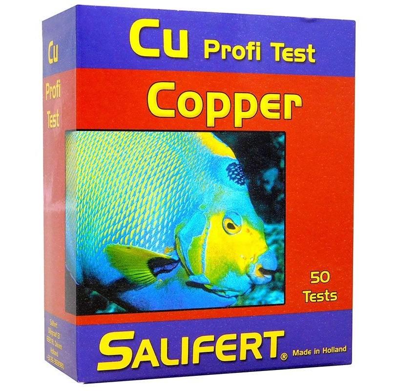 Test de Cobre CU de Salifert