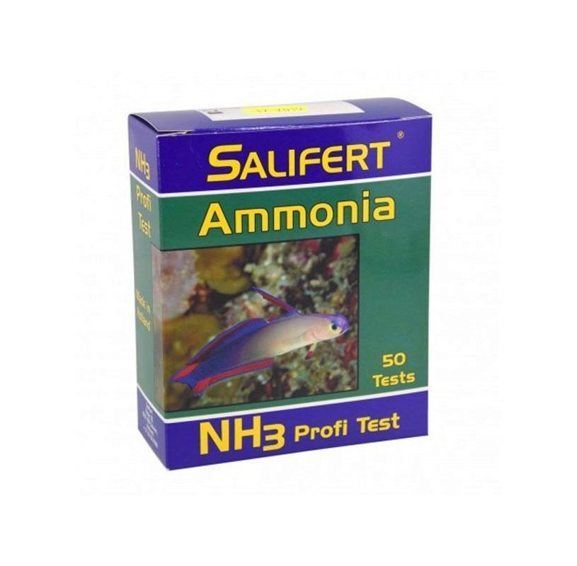 Test de Amoniaco NH4 de Salifert