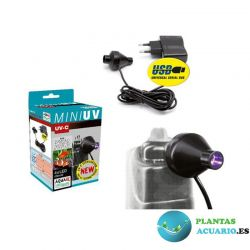 Aquael Lampara Led Ultravioleta UV Mini