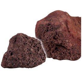 Roca Volcánica Roja