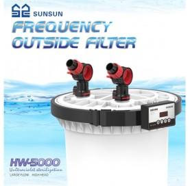 Filtro externo 5000 + UV SUNSUN