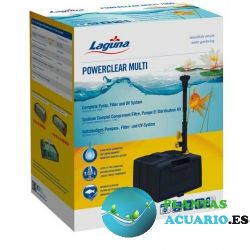LAGUNA POWERCLEAR MULTI Bomba, Filtro y UV