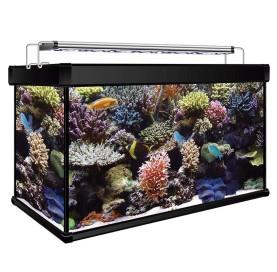 Kit Acuario Marino AQUA LUX PRO 120 Litros con filtro Hydra y Led