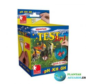 Análisis MULTI TEST 3 en 1 (pH/KH/GH) de DAJANA