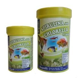 Espirulina & Chlorella Flakes Aquili