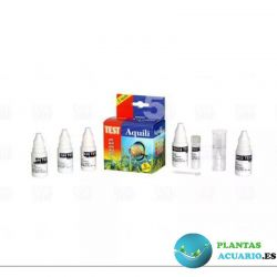Test 5 en 1 PH- GH-KH-NO2-NO3 18ml Aquili