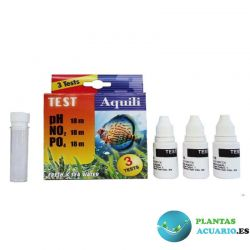 Test 3 en 1 PH - NO3 - PO4 18ml Aquili