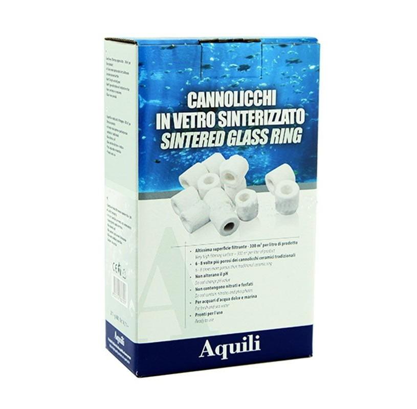 Anillos vidrio sinterizado 400g-1L Aquili