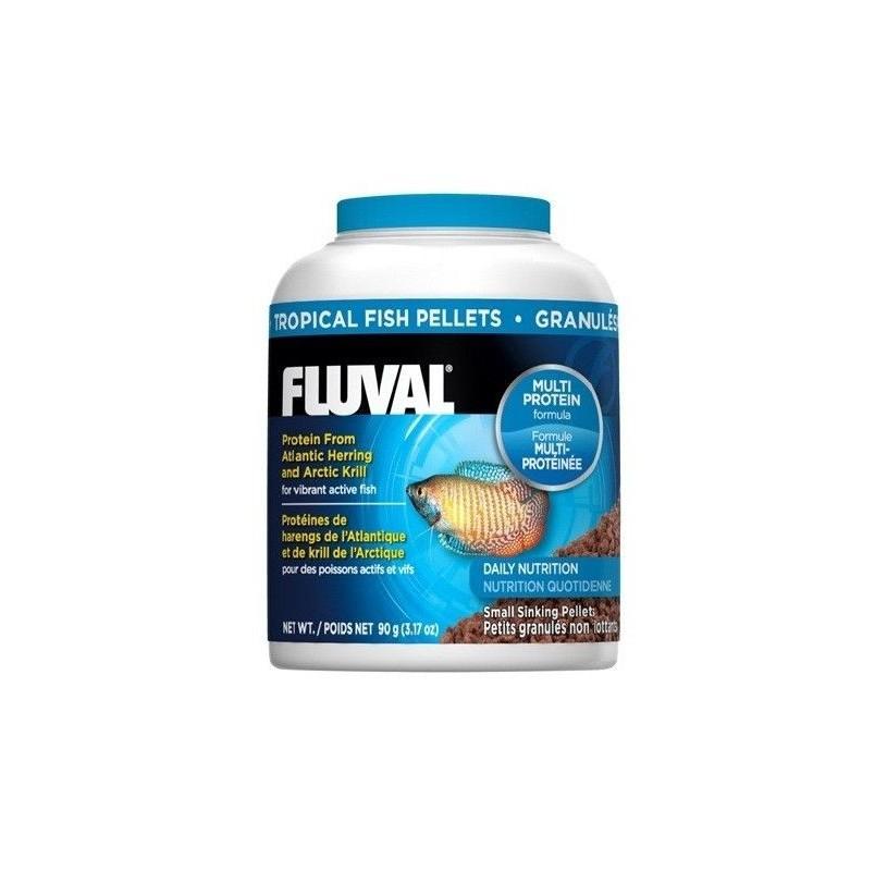 Comida en granulos para peces tropicales Fluval