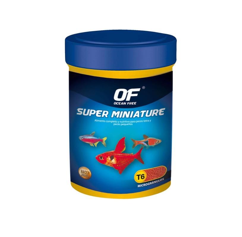 Granulos Super Miniature 70gr de OCEAN FREE